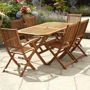 Garden Furniture with Less Maintenance