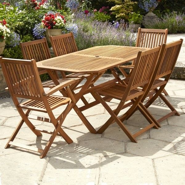 Garden Furniture with Less Maintenance